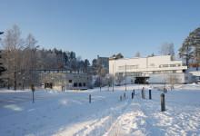 Alvar Aalto -museo ja Keski-Suomen museo. Valokuva Maija Holma, Alvar Aalto -säätiö,