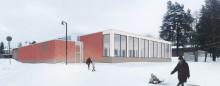 AaltoAlvarin laajennusosan suunnitelmakuva hankesuunnitelmasta