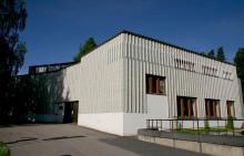 Alvar Aalto -museon pääty kesäauringossa