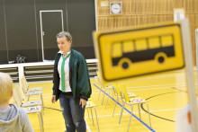 Laila Linkkikuski Bussiloikka kouluun! -oppitunnilla