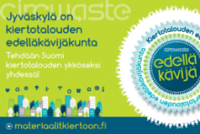 Jyväskylä on kiertotalouden esimerkkikaupunki