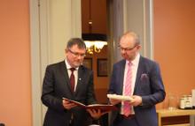 Deputy Mayor of Debrecen at the City Hall of Jyväskylä