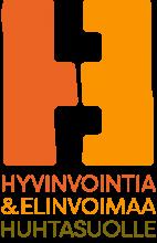 Hyvinvointia ja elinvoimaa Huhtasuolle hankkeen logo