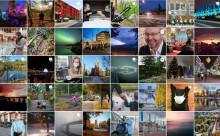 Kuvasatoa kaupungin Instagram-tililtä