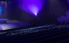Jyväskylän kaupunginteatterin tyhjä katsomo