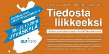 Kansallinen liikuntafoorumi 2019 Jyväskylässä mainos