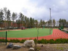 Keljonkankaan lähiliikuntapaikan stadion ja nurmikenttä