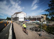Eteläväylän ja Sohlberginkadun kulmaukseen rakennettava uusi Keljonkankaan yhtenäiskoulu aloittaa toimintansa elokuussa 2021