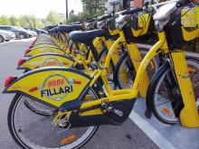 Helsingin keltaiset kaupunkipyörät