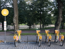 Keltaiset kaupunkipyörät