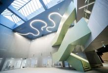 Sairaala Novan uusi aula.
