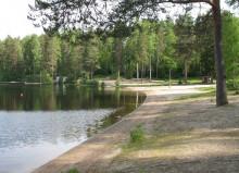 Köhniön alueen uimaranta