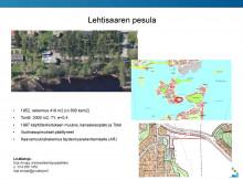 Lehtisaaren pesula, kuva kiinteistöstä ja kartta