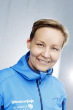 Erityisliikunnanohjaaja Tiina Kurittu