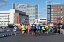 Finlandia Marathoniin osallistujia