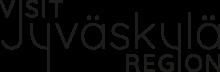 Visit Jyväskylä Region kirjoitettuna logoon