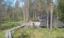 Nyrölän polun laavu ja pitkospuut