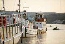 Laivoja Lutakon satamassa