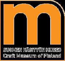 Suomen käsityön museo logo, neliskulmainen