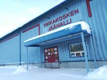 Tikkakosken jäähalli tammikuussa 2019