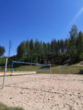 Tuomiojärven beach volley kenttä