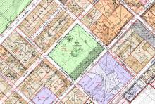 Jyväskylän kartta, missä merkittynä voimassa olevat asemakaavat
