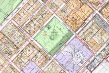 Jyväskylän kartta, missä merkittynä vireillä olevat asemakaavat