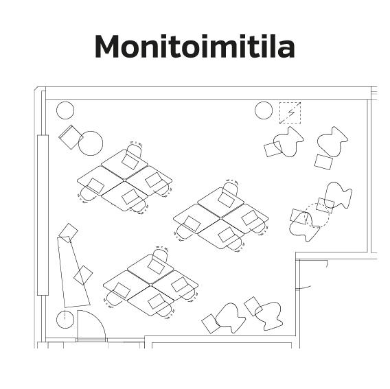 Monitoimitila