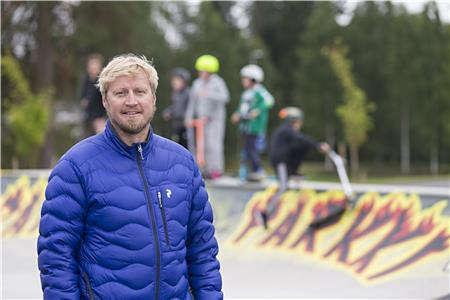 Liikuntasuunnittelija Mikko Pajunen